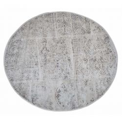 Коврик для ванной Arya Круглий 120 см Eskitme Бежевый (TR1004842)
