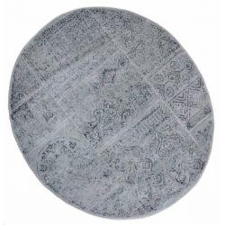 Коврик для ванной Arya Круглий 120 см Eskitme Серый (TR1004842)