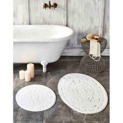 Набор ковриков Karaca Home - Obi ecru молочный 60*100+50*60 (svt-2000022280044)