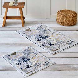 Набор ковриков Karaca Home - Suelita 60*100+50*60 (svt-2000022268417)