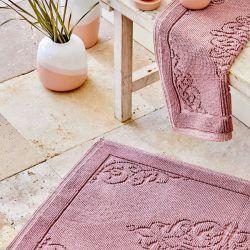 Набор ковриков Karaca Home - Milly murdum фиолетовый 60*100+50*60 (svt-2000022279710)