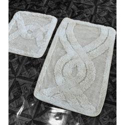 Набор ковриков Zugo Home Kario Fidisi 50x60+60x100 см (8698485570549)