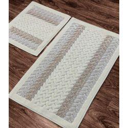 Набор ковриков Zugo Home Mercan Fidisi 50x60+60x100 см (8698485570587)