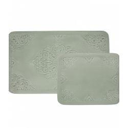 Набор ковриков Zugo Home Ala SuYesili 50x60+60x100 см (8698485570495)