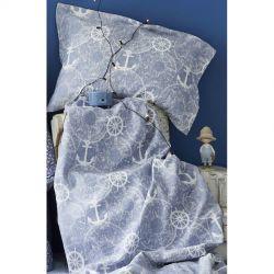 Плед - покрывало Karaca Home - Sandes 2019-2 mavi 160*220 (svt-2000022230735)