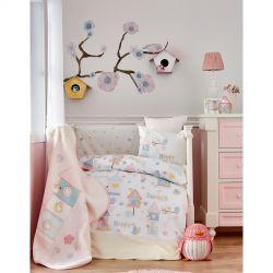 Детский плед в кроватку Karaca Home - Happy 2018-1 100*120 (2000022087056)