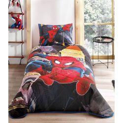 Покрывало с наволочкой Tac Disney Spiderman In City 160*220+50*70 (TAC60122789)