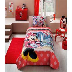 Покрывало с наволочкой Tac Disney Minnie Tea Time 160*220+50*70 (TAC60109097)