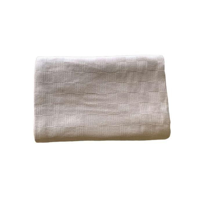 Покрывало-пике Zugo Home вафельное 155*200 см кофейный (ts-02109)
