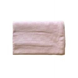 Покрывало-пике Zugo Home вафельное 220*240 см пудра (ts-02118)