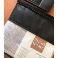 Покрывало Zugo Home Helsa серый  (ts-02758, ts-02757)