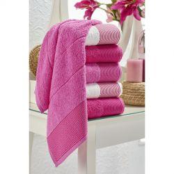 Набор полотенец Eponj Home - Vorteks 50*85 (6 шт) fitilli pembe розовый (svt-2000022282086)