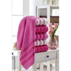 Набор полотенец Eponj Home - Vorteks 50*85 (6 шт) makara pembe розовый (svt-2000022282116)