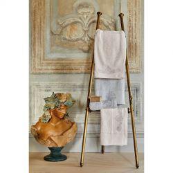 Набор полотенец Karaca Home - Eldora offwhite-gri 2020-1 кремовый-серый 50*90+85*150 (svt-2000022238694)
