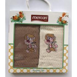 Набор кухонных полотенец Mercan вафельных Domuz Naughty Pigs 40*60 2 шт (ts-6001424)
