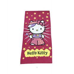 Полотенце пляжное Vende велюр Hello Kitty 75*150 (ts-02179)