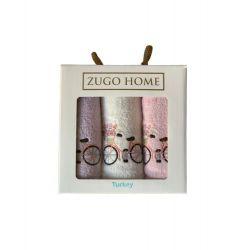 Набор кухонных полотенец Zugo Home Bike V1 30*50 3 шт (ts-01898)