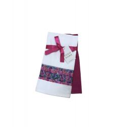 Набор кухонных полотенец Zugo Home Wildflowers 40*60 2 шт фуксия (ts-02467)