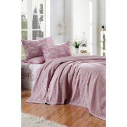 Постельное белье Eponj Home Paint Pike - Cage lila евро (svt-2000022282567)