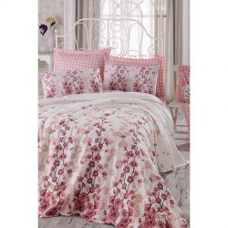 Постельное белье Eponj Home Pike - Coretta a.pembe светло-розовый полуторное (svt-2000022283540)