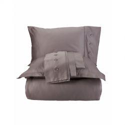 Постельное белье Karaca Home сатин - Infinity vizon 2020-1 кофе евро (svt-2000022239011)