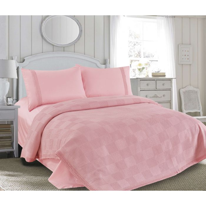 """Комплект постельного белья ТМ """"LOVE YOU"""" розовый (m015903)"""