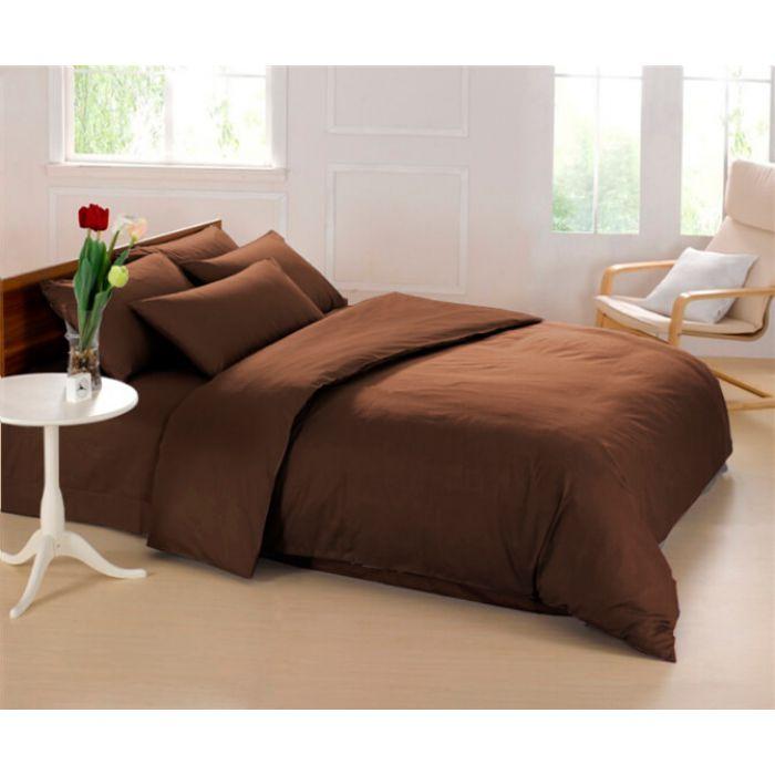 """Комплект постельного белья ТМ """"LOVE YOU"""" 23 коричневый"""