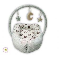Гнёздышко кокон игровой матрасик 67x30 Greta lux (1702)