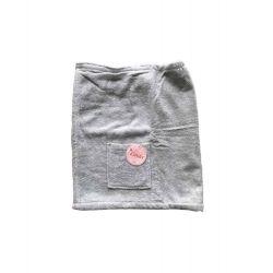 """Мужская юбка для бани """"Linda"""" Erkek gri M/L серый (8698485045788)"""