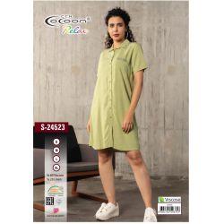 "Туника ""Cocoon"" 24523 green (m016508, m016509, m016510, m016507)"