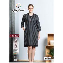 "Платье (туника) ""Cocoon"" 22-2684 (m017025, m017026, m017027, m017028)"