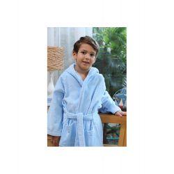 Детский халат Ozdilek Traffic голубой (8697353313813, 8697353313820, 8697353313776, 8697353313783, 8697353313790)