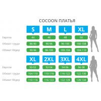 """Платье """"Cocoon"""" 22146 (m015504)"""